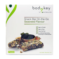 BodyKey Snack Bar On-The-Go Seaweed Flavour