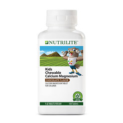 Nutrilite Chewable Calcium Magnesium - 100 tab