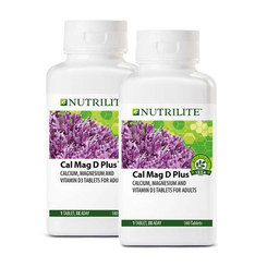 Nutrilite Cal Mag D Plus Twin Pack - 180 tab x2